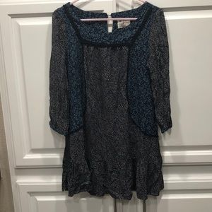 Holding Horses Anthropologie Print Tunic Dress